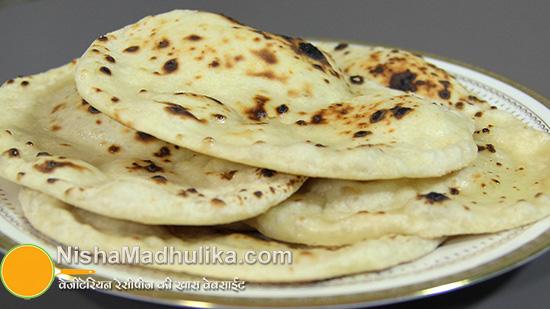 Naan Without Tandoor And Yeast Nishamadhulika Com