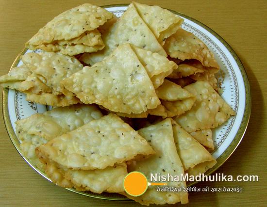 Maida Cake Recipe In Marathi: Papdi Namkeen Recipe