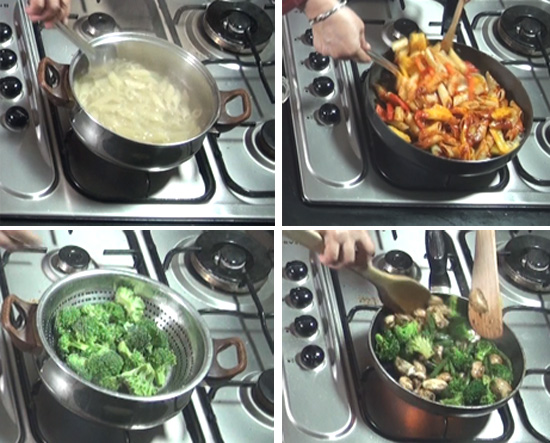 Pasta With Mixed Vegetables Recipe