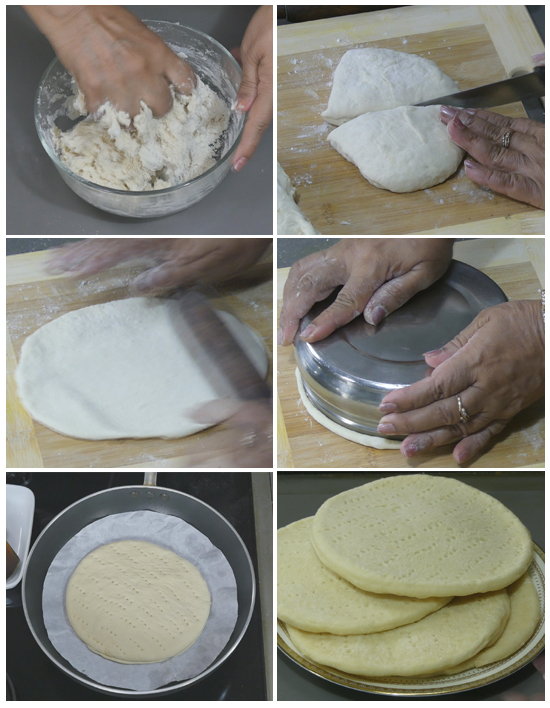 how to prepare pizza base in microwave