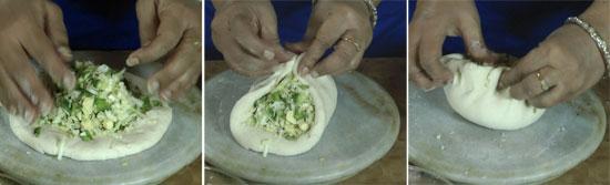 Kids Tiffin Recipe Pizza Paratha