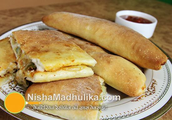 Cheese pizza pockets recipe nishamadhulika forumfinder Image collections