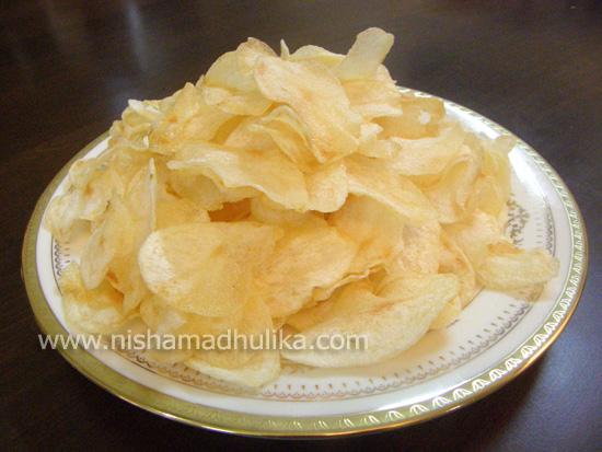 Potato Chips Recipe - Potato Crisp