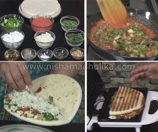Pizza sandwich recipe nishamadhulika preheat forumfinder Image collections
