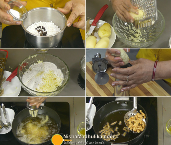 sabudana kurkure recipes