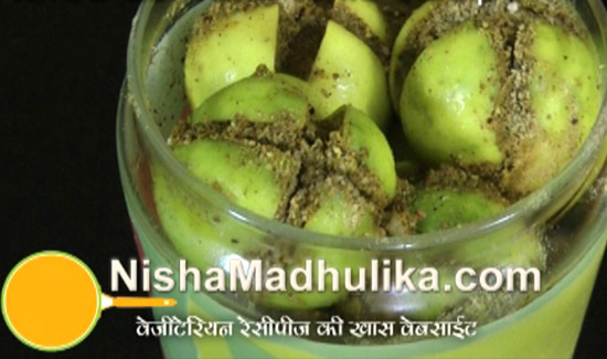 Stuffed Lemon Pickle Recipe Nishamadhulika Com
