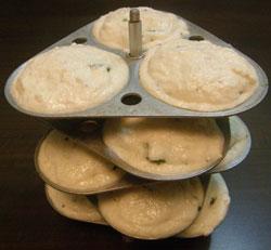 Recipe for Stuffed Idli