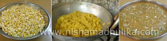 How to make Sweet Corn Burfi