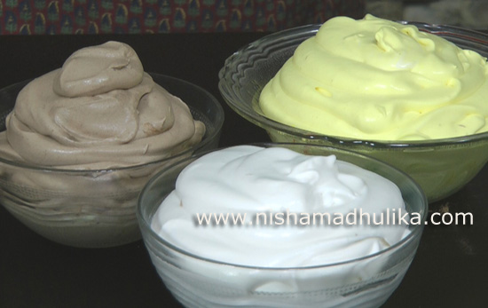 Ice cream recipes page 1 nishamadhulika homemade whipped cream recipe ccuart Image collections