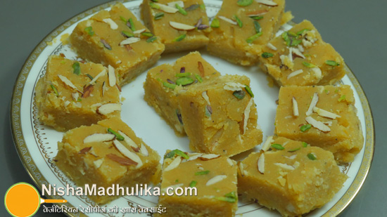Delicious indian recipes in english language nishamadhulika burfi recipe forumfinder Images