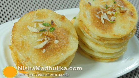 Delicious indian recipes in english language nishamadhulika mawa malpua recipe forumfinder Images