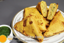 भरवां ब्रेड पकौडा़ - Aloo Bread Pakoda - Bread Pakora Recipe with Stuffed Potato
