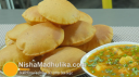 मक्का की पूरी - Corn Masala Poori - Maize flour Poori Recipe