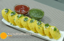 इडली ढोकला - Idli Dhokla Recipe - South Indian Idli Dhokla Recipe