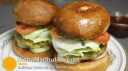 वेज बर्गर - Vegetable Burgers recipe - Veg Burger Recipe - Veggie Burger