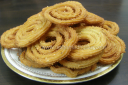 चावल की चकली Rice Chakali Recipe – Murukku Recipe