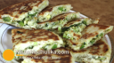 पिज्जा परांठा - Pizza Paratha Recipe - Cheese Stuffed Paratha Recipe