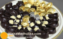 मोल्डेड चॉकलेट - Molded chocolate Candy (how to make molded chocolate at home)