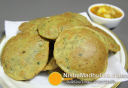 छोलिया पूरी - Choliya Puri recipe - Green Chickpeas Poori recipe